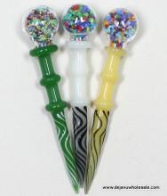 """4.75"""" Fancy Glass Daber"""