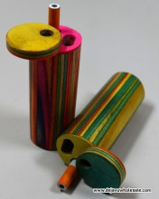 4'' Round Color Dugout With Cigarettes