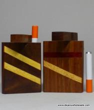 "3"" Designed Wood Dougout"