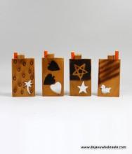 "4"" Designed Wood Dougout"