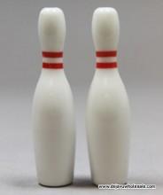 "2.5"" Bowling Pin Ceramic Chillum"