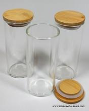 4.5'' Tall 50 mm Diameter Glass Jar