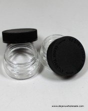 30 ml Clear Jar Child Resistant Jar Container