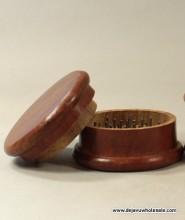 Red Wood Grinder (2 parts) - 72mm