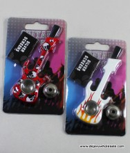 Guitar Shaped Metal Pipe with Lid