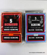 Pipe Screens - 100 Ct