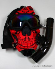 Gas Mask Color With Fancy Design
