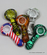 """3"""" Printed Silicon Hand Pipe"""